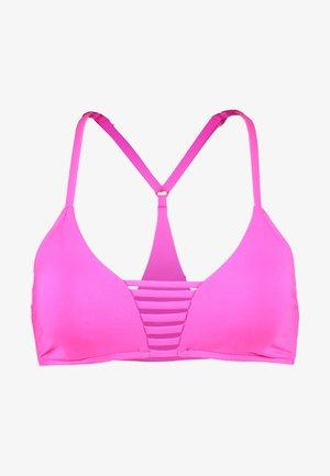 ACTIVE ROULEAU BRALETTE - Bikini top - ultra pink
