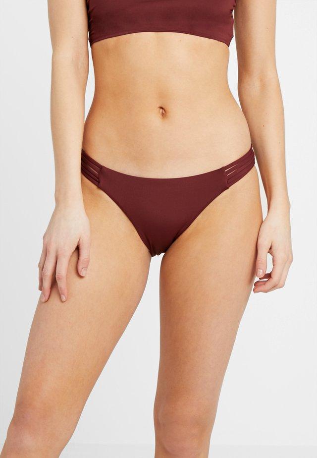 MULTI ROULEAU BRAZILIAN - Braguita de bikini - plum