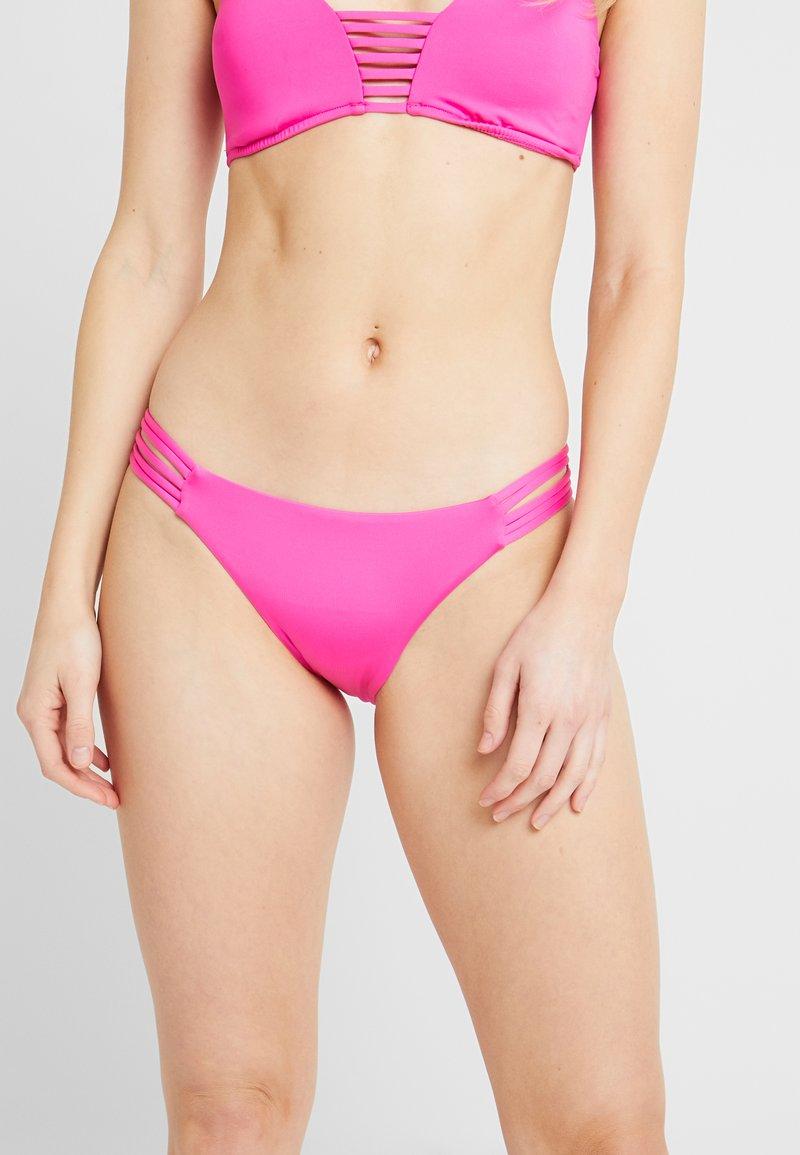 Seafolly - MULTI ROULEAU BRAZILIAN - Bikini bottoms - ultra pink