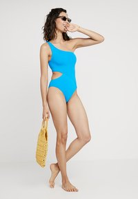 Seafolly - ACTIVE ONE SHOULDER MAILLOT - Maillot de bain - electric blue - 1