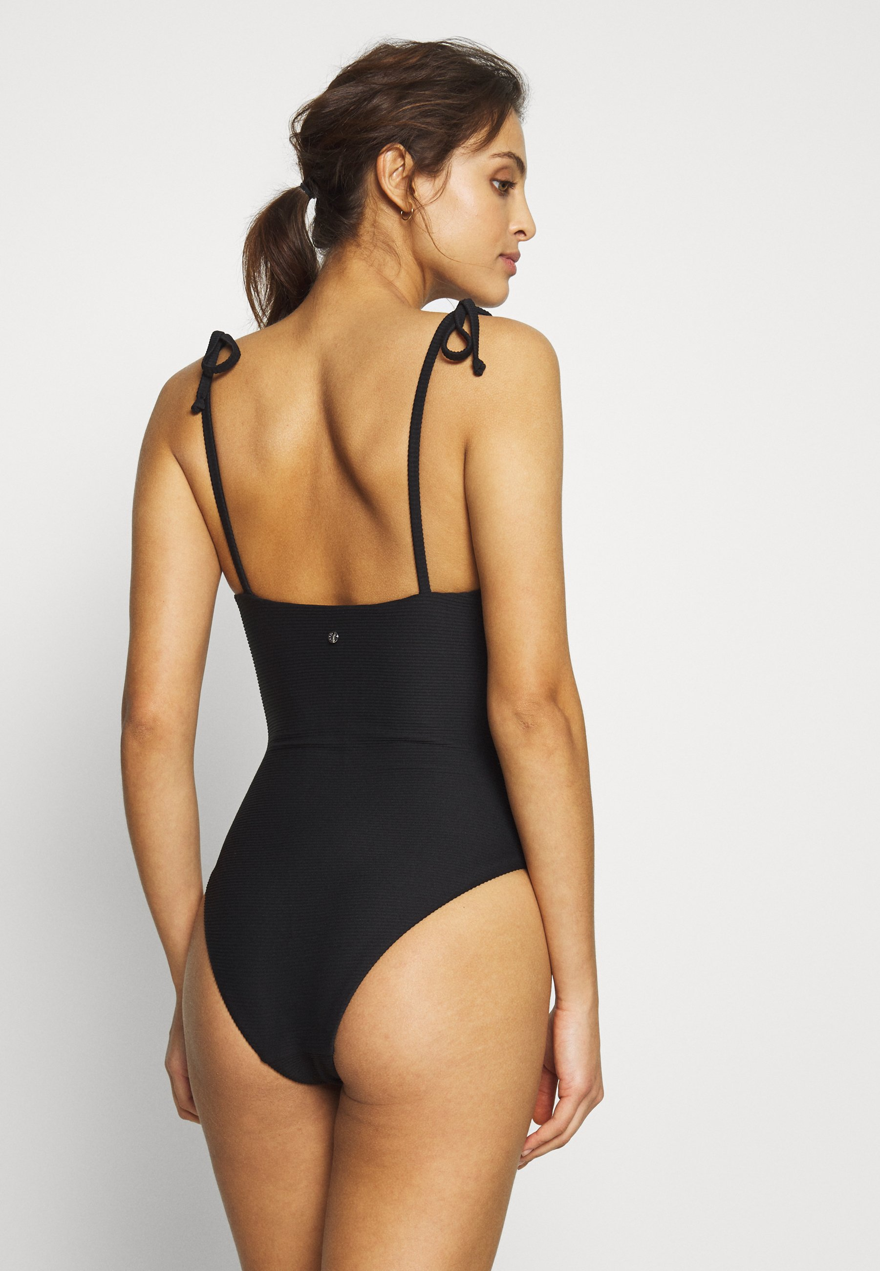 Seafolly Essentials Capsule One Piece Option - Swimsuit Black