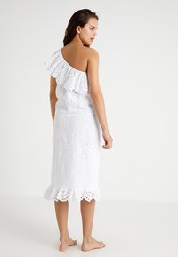Seafolly - ONE SHOULDER BRODERIE - Complementos de playa - white - 2