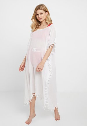 MIDI AMNESIA KAFTAN - Beach accessory - white