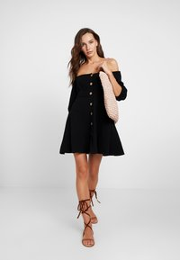 Seafolly - OFF SHOULDER DRESSES - Abito a camicia - black - 1