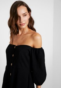 Seafolly - OFF SHOULDER DRESSES - Abito a camicia - black - 3
