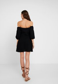 Seafolly - OFF SHOULDER DRESSES - Abito a camicia - black - 2