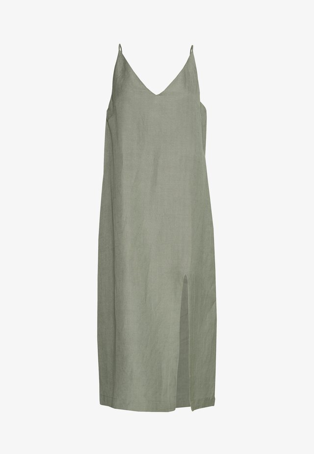 SPIRITANIMAL BLEND SLIP DRESS - Korte jurk - sage