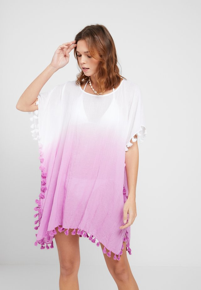 BEACH EDIT DIP DYE KAFTAN - Beach accessory - rosebud