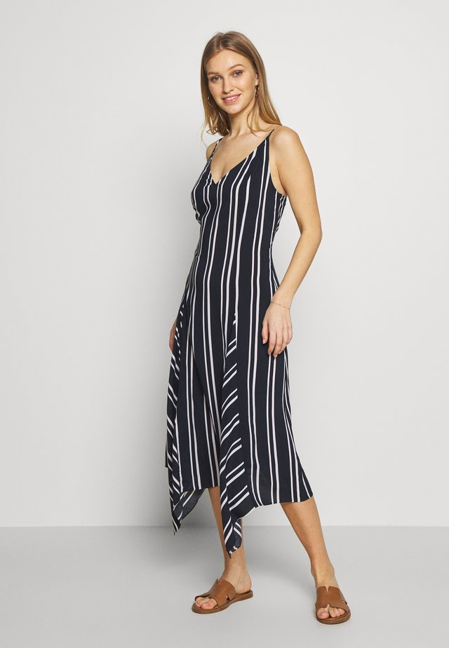 SUMMERSEASUMMER SEA STRIPE DRESS - Strand accessories - navy