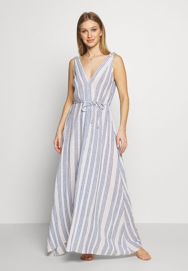 SUMMERSEA STRIPE MAXI - Strand accessories - blue/gold
