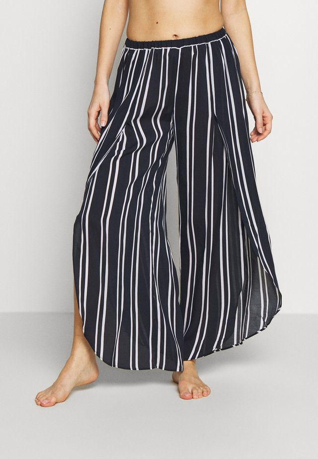 SUMMER SEA STRIPE PANT - Strand accessories - navy