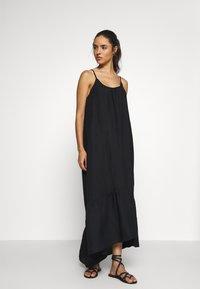 Seafolly - ESSENTIALS CAPSULE DRESS OPTION - Beach accessory - black - 1