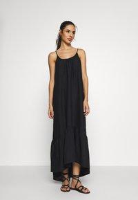 Seafolly - ESSENTIALS CAPSULE DRESS OPTION - Beach accessory - black - 0