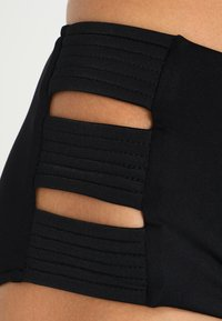 Seafolly - HIGH WAISTED QUILTED PANT - Bikinibroekje - black - 3