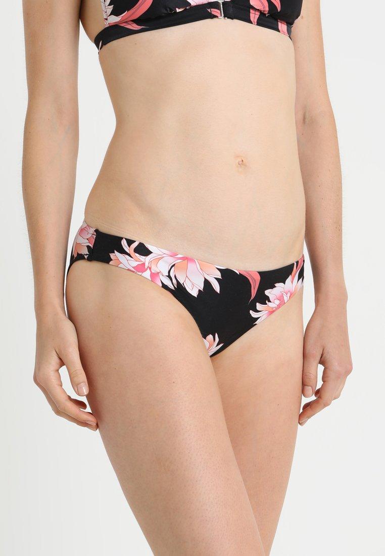 Seafolly - DESERT FLOWER HIPSTER - Bikini-Hose - black