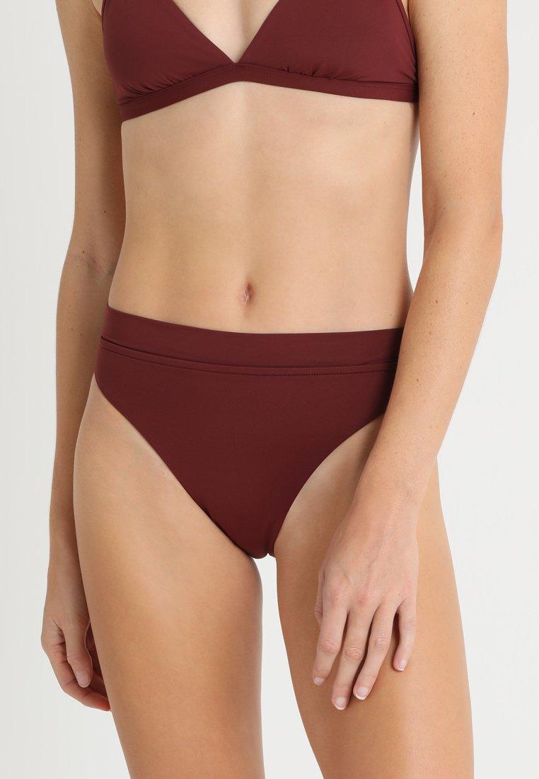 Seafolly - ACTIVE HI RISE - Braguita de bikini - plum