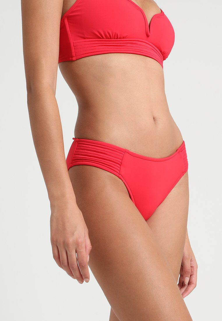 Seafolly - QUILTED RETRO PANT - Bikini-Hose - chilli