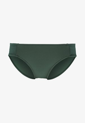 QUILTED RETRO PANT - Bikinibroekje - forest green