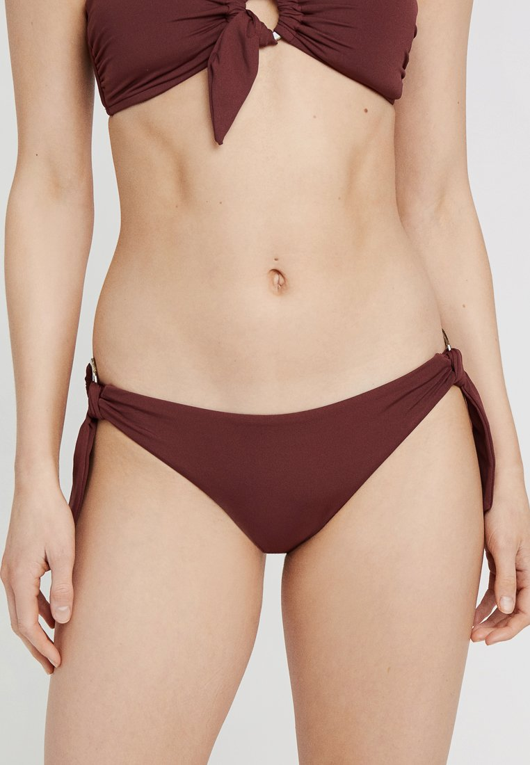 Seafolly - ACTIVE RING SIDE HIPSTER - Bikini bottoms - plum