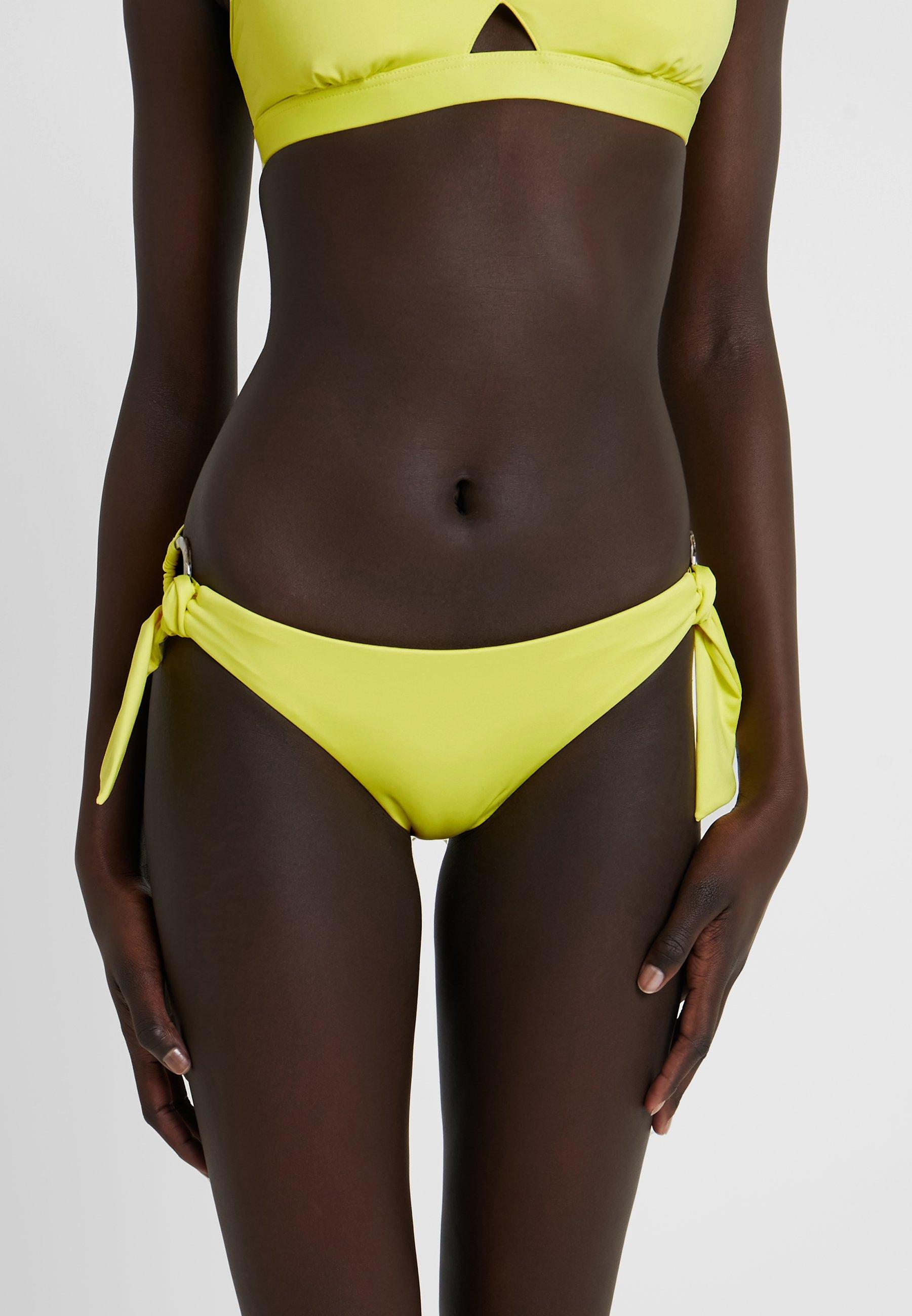 Seafolly Ring De Lime Light Side HipsterBas Bikini Active wOPN80ymnv