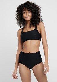 Seafolly - LALUNA HIGH WAISTED PANT - Bikinibroekje - black - 1