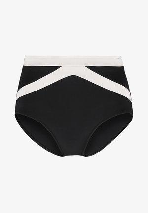 POPBLOCK HIGH WAISTED PANT - Spodní díl bikin - black