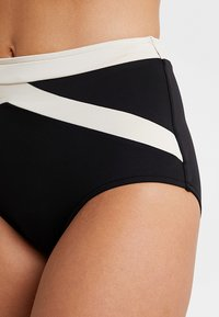 Seafolly - POPBLOCK HIGH WAISTED PANT - Bikini bottoms - black - 4