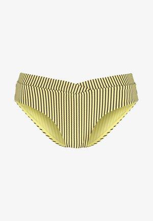 RETRO V FRONT - Bikini bottoms - lime light