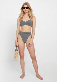 Seafolly - HIGH RISE RIO PANT - Bikinibroekje - black - 1