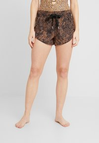 Seafolly - SAFARI SPOT - Swimming shorts - black - 0