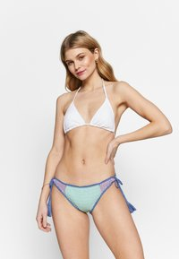 Seafolly - SUMMER CHINTZ TIE SIDE BRAZILIAN - Braguita de bikini - fresh mint - 1