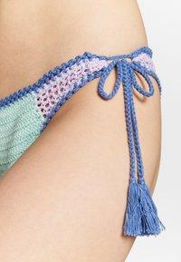 Seafolly - SUMMER CHINTZ TIE SIDE BRAZILIAN - Braguita de bikini - fresh mint - 4