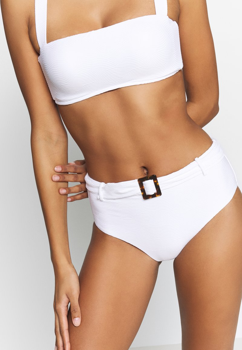 Seafolly - CAPRI SEA WIDE SIDE RETRO - Bikinibroekje - white