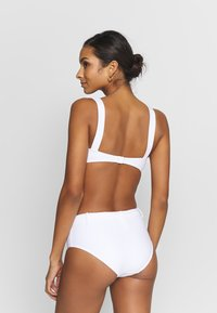 Seafolly - CAPRI SEA WIDE SIDE RETRO - Bikinibroekje - white - 2