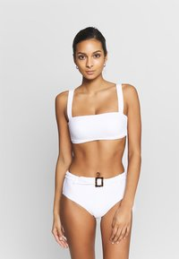 Seafolly - CAPRI SEA WIDE SIDE RETRO - Bikinibroekje - white - 1