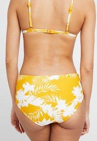 Seafolly - WILD TROPICS WIDE SIDE RETRO - Bikini bottoms - saffron - 2
