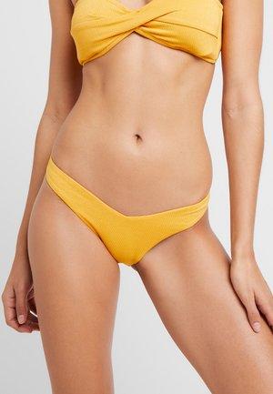 STARDUST-V HIGH CUT RIO - Braguita de bikini - saffron