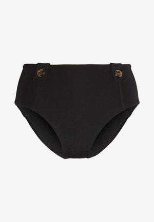 ACTIVEHIGH WAISTED BUTTONS - Bikiniunderdel - black