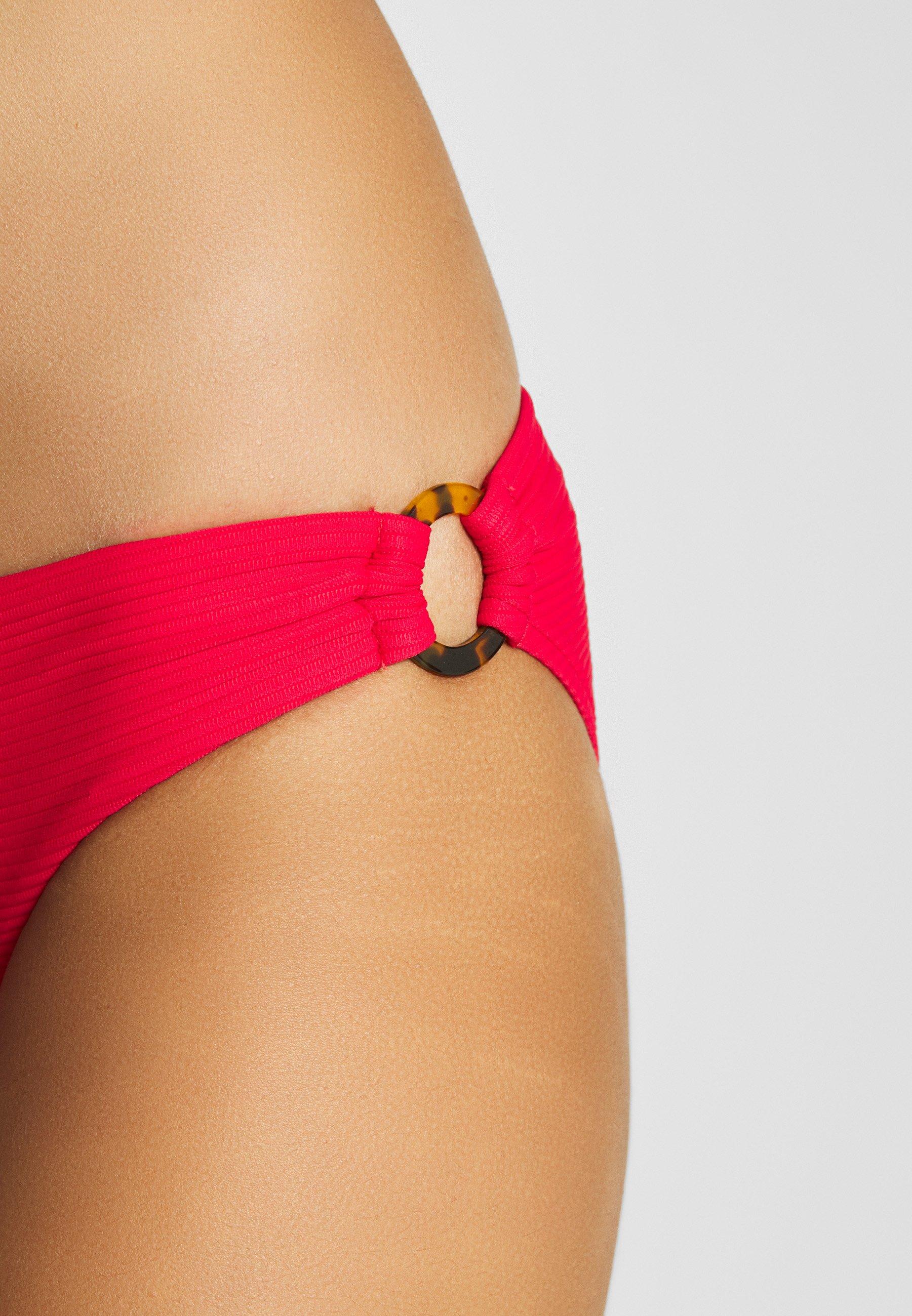 Seafolly Summersearing Side Hipster - Bikini Pezzo Sotto Chilli OY8U0