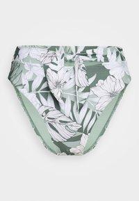 Seafolly - COPACABANATIE FRONT HI RISE - Bikini bottoms - vine - 3