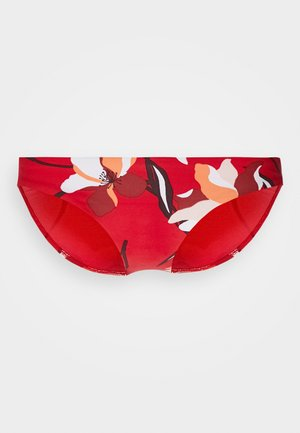 FLOWER MARKET HIPSTER - Bikini bottoms - chilli
