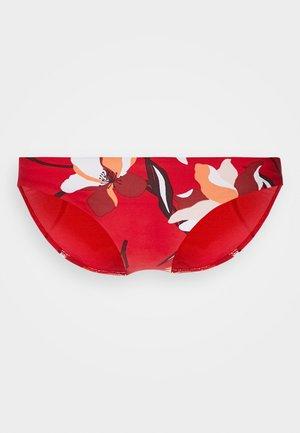 FLOWERMARKETHIPSTER - Bikini bottoms - chilli