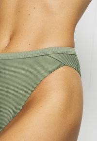Seafolly - ESSENTIALS HIGH WAISTED PANT - Braguita de bikini - khaki - 5
