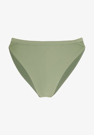 ESSENTIALS HIGH WAISTED PANT - Dół od bikini - khaki