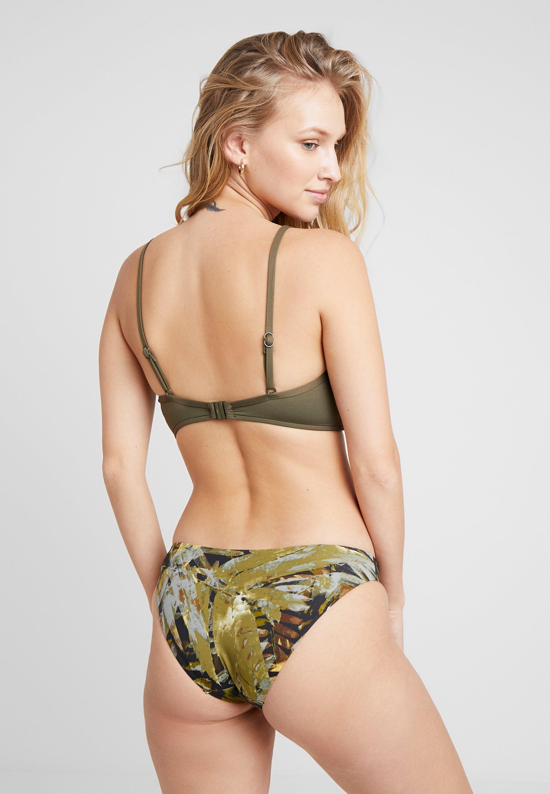 Seafolly Bralette - Bikiniöverdel Dark Olive