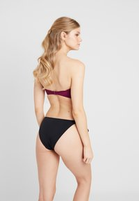Seafolly - RUCHED BANDEAU - Top de bikini - boysenberry - 2