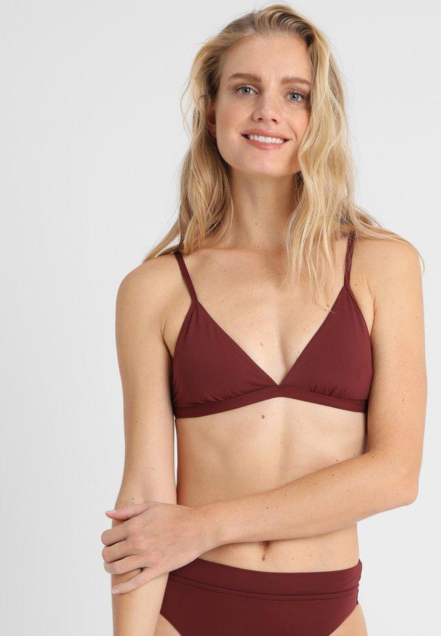 ACTIVE BRA - Top de bikini - plum