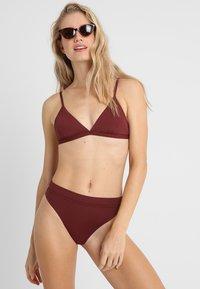 Seafolly - ACTIVE BRA - Top de bikini - plum - 1