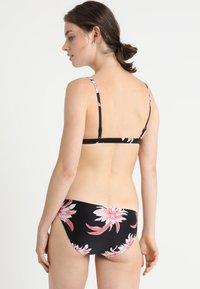 Seafolly - DESERT FLOWER FIXED LONGLINE - Bikinitop - black - 2