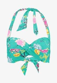 Seafolly - WATER GARDEN SUSTAINABLE TWIST SOFT CUP HALTER - Top de bikini - evergreen - 4